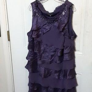 Beautiful S.L. Fashions Plus Size Ruffled Dress